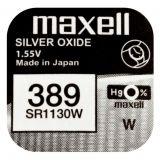 Maxell SR1130W hopeaoksidiparisto 389