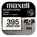 Maxell SR927SW hopeaoksidiparisto 395