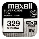 Maxell SR731SW hopeaoksidiparisto 329