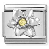 Nomination Classic SilverShine Symbols Daffodil 330311-14