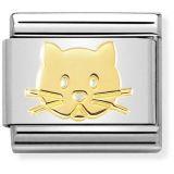 Nomination Gold Cat 030162-53