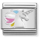 Nomination Silvershine Unicorn 330204-16