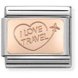 Nomination Rose Gold I LOVE TRAVEL 430110-02