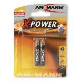 Ansmann alkaliparisto AAAA 1,5V 2-pack