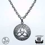 Northern Viking Jewelry Triquetra hopeariipus NVJ-H-RS034
