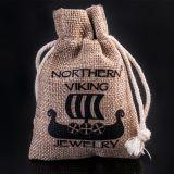 Northern Viking Jewelry Heart Wolf hopeariipus NVJ-H-RS057