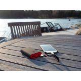 Silver Bar USB-latauspiuha-rannekoru ruskea C-sarja Android 18,5 cm 2289