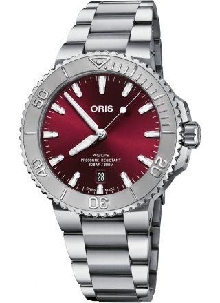 Oris Aquis Date Cherry Edition 01 733 7766 4158-07 8 22 05PEB