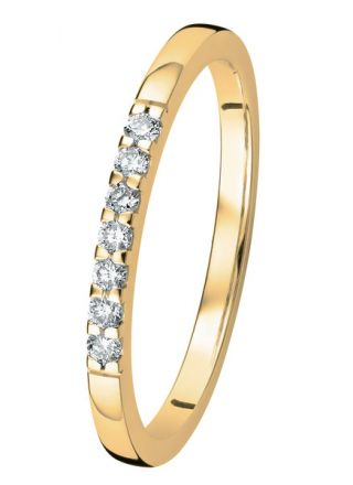 Kohinoor Linnea timanttisormus kulta 033-406-10