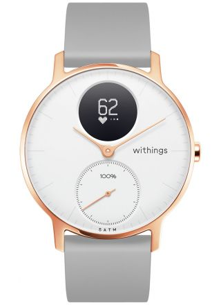 Withings Steel HR White Rose Gold 36 mm 36white - RG - S. Grey-All-Inter