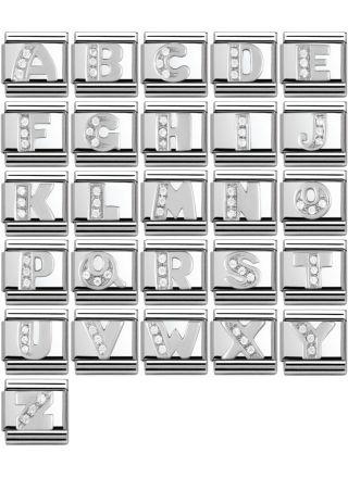Nomination SilverShine Zircon kirjaimet 330301