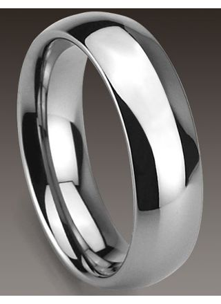 Bosie naarmuuntumaton titanium/ tungsten sormus TI&TU115/6mm