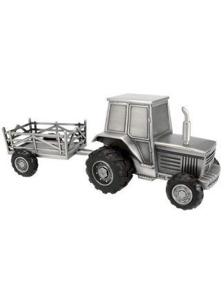 Säästölipas Traktori ja peräkärry 078666