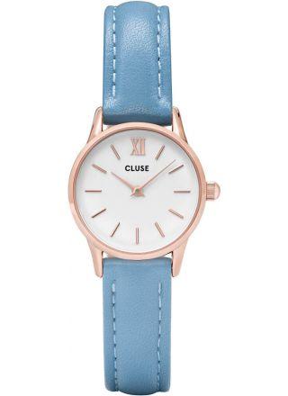 Cluse CL50026 La Vedette Rose Gold Retro Blue