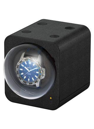 Boxy Fancy Brick Black Leather Optics kellowinder 309414