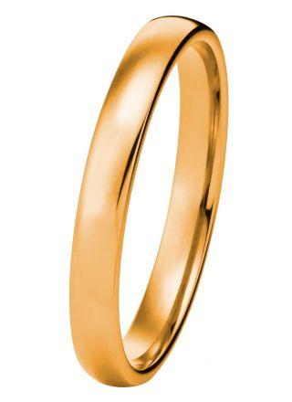 Kohinoor 003-601 2,5mm leveä 14k kultasormus
