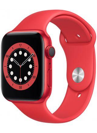 Apple Watch Series 6 GPS + Cellular punainen alumiinikuori 44 mm punainen urheiluranneke M09C3KS/A