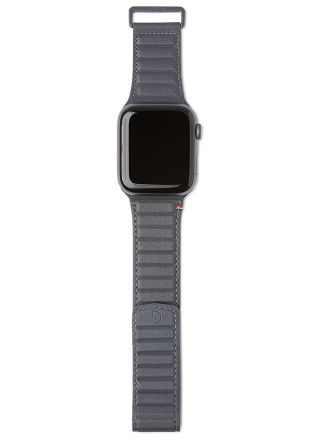 Decoded Traction Strap Antracite ranneke 38/40 mm Apple Watchiin D20AWS40TS1AE