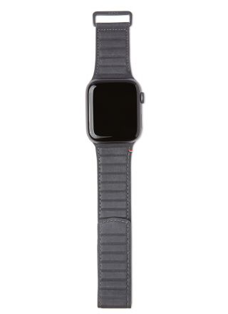 Decoded Traction Strap Antracite ranneke 42/44 mm Apple Watchiin D20AWS44TS1AE