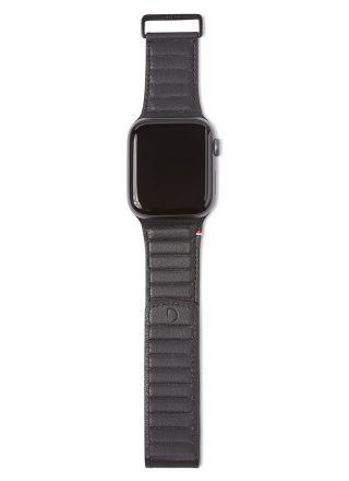 Decoded Traction Strap Black ranneke 38/40 mm Apple Watchiin D9AWS40TS1BK