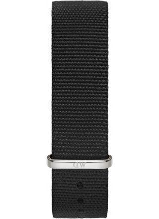 Daniel Wellington Classic Cornwall ranneke Silver 20mm DW00200136