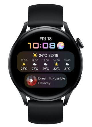 Huawei Watch 3 Active Black 55026820
