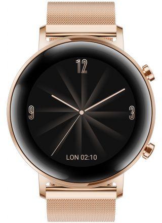 Huawei Watch GT2 (42mm) Gold metal strap älykello 55024610