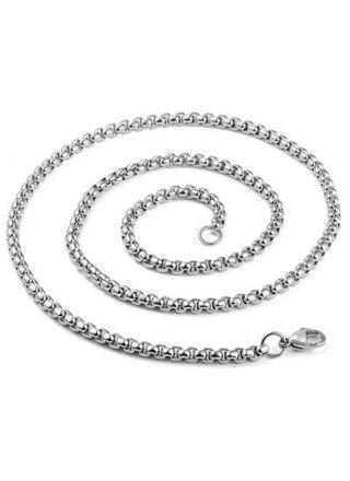 Northern Viking Jewelry NVJKE004 kaulaketju Rolo link