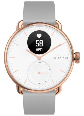 Withings ScanWatch Rose Gold Grey 38mm HWA09-model 5-All-Int