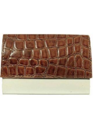 Smartcaze Luxury Brown käyntikorttikotelo