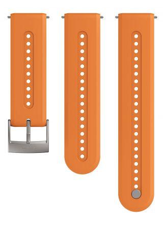 Suunto Athletic 7 Granite Orange silikoniranneke 24 mm koko S/M SS050688000