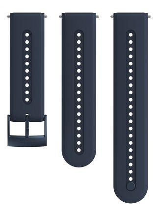 Suunto Athletic 7 Granite Blue silikoniranneke 24 mm koko S/M SS050689000