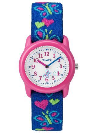 Timex Time Machines Kids Butterflies & Hearts T89001