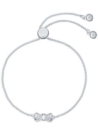 Ted Baker Sabsal Crystal Sparkle Bow Drawstring rannekoru TBJ2526-01-02