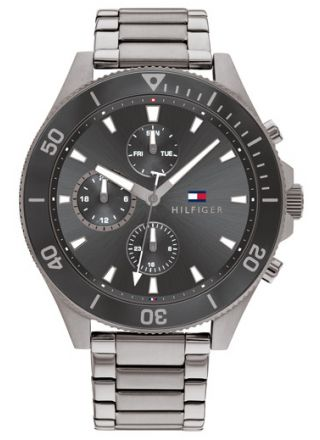 Tommy Hilfiger LARSON ionic plated grey 2 steel 1791918