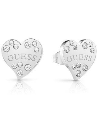 GUESS Heart Warming korvakorut UBE78051 Silver