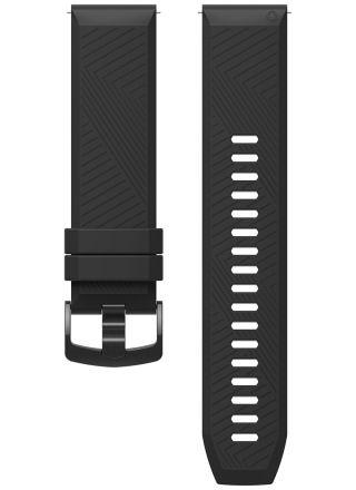 COROS Apex 46 mm / Apex Pro silikoniranneke musta WAPXP-WB-BLK