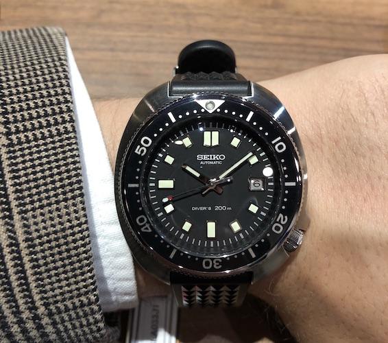 Seiko Prospex The 1970 Diver's Re-creation SLA033J1 Limited Edition