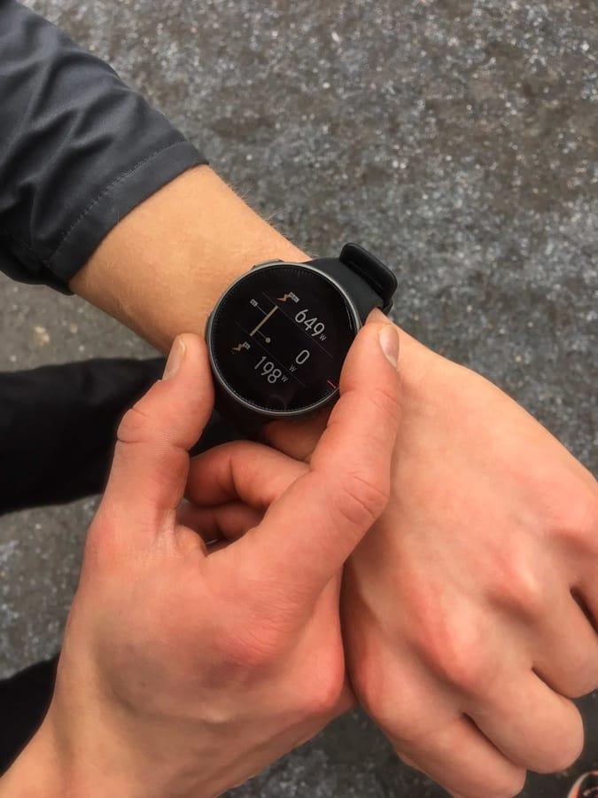 Juoksutehon mittaus